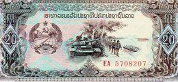 Billet De Banque Du Laos 20 Kip Non Daté (1979) Neuf - - Laos