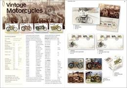 AUSTRALIA - Stamp Bulletin - 2018 - Vintage Motorcycles Motos Motocyclettes Motorräder Moto - Motos