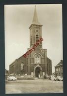 KESTER (Gooik)  Kerk; Eglise.  Voitures.  Photo Carte. 2 Scans. - Gooik