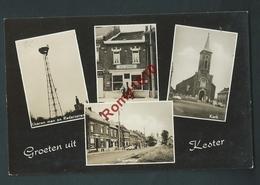 KESTER (Gooik)  Multivues.  Photo Carte. 2 Scans. - Gooik