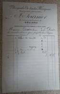 Facture Ancienne  - J Fournier - Vélocipèdes De Toutes Marques - Béziers - 1890 - France