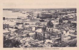 1939-Bari Un Angolo Della Citta' Vecchia E Lungomare, Viaggiata - Bari