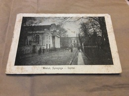 WIELUN. Synagoga Spzital. Synagogue Judaica - Polonia