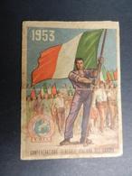 19916) TESSERA SINDACATO C.G.I.L. CONFEDERAZIONE GENERALE ITALIANA DEL LAVORO 1953 - Documenti Storici