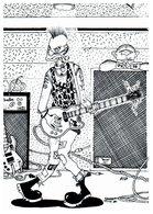 """Illustrateur MOREAU Fabien -  L'orchestre """" Punk"""" - Musique - Autres Illustrateurs"""