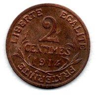 Dupuis  -  2 Centimes 1914  -  état SUP - B. 2 Centimes