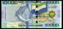 # # # 3 Banknoten Aus Sierra Leone 10.000 Leones UNC # # # - Sierra Leone