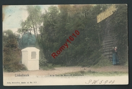 Linkebeek. A La Tour De Malakof, Restaurant. Animée. Nels Couleur, Série 11, N°777. Circulé En 1904.  2 Scans. - Linkebeek