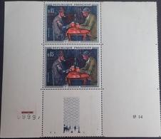 PTT/653 - 1961 - PAUL CEZANNE - PAIRE N°1321 TIMBRES NEUFS** - Ungebraucht
