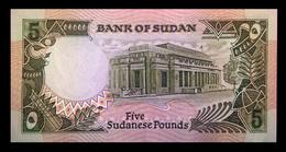 # # # Banknote Aus Sudan 5 Pounds 1987 UNC # # # - Sudan