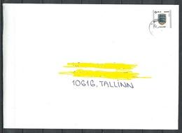 ESTLAND ESTONIA 2019 O NURMENUKU Inlandbrief Domestic Letter - Estonia