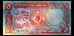 # # # Banknote Aus Afrika 5 Pounds 1991 UNC # # # - Sudan