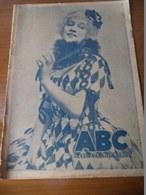 ABC - A COMEMORAÇÃO DA MORTE DO SANTO CONDESTÁVEL - 1924  COMO SE FAZ UMA FITA EM PORTUGAL - CINEMA - 1924 - Revues & Journaux