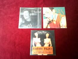 FLORENT  PAGNY   ° COLLECTION  DE 3 CD SINGLES  DE COLLECTION - Musique & Instruments