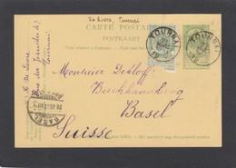 OUVRAGES POUR L'EXPO. UNIVERSELLE A LIÈGE 1905. - Ganzsachen