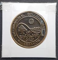 Lebanon Medal, INTERNATIONAL COLLEGE (IC) 1891 - LEBANON - 100 Years Anniv? - Other
