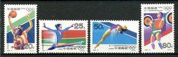 CHINE 1992 N° 3121/3124 ** Neufs MNH Superbes C 1,75 € Jeux O Eté Barcelone Basket Gymnastique - 1949 - ... République Populaire