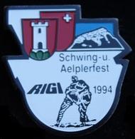 LUTTE SUISSE - LUTTEURS - SCHWING-U. - AELPERFEST - RIGI - 1994 - URI - SCHWEIZ - SWISS -    (21) - Wrestling