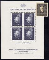 170-171 Liechtenstein-Jahrgang 1938 Komplett, Postfrisch ** - Ungebraucht
