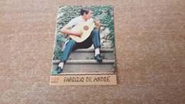 Figurina Panini Cantanti 1968 - Fabrizio De André - Edizione Italiana