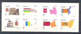 Spain 2010. Autonomias. Ed 4524-31 (**) - 2001-10 Neufs