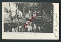 Montaigu.  Scherpenheuvel-Zichem. Rue Du Moulin. D.V.D. N°7741. 2 Scans. - Scherpenheuvel-Zichem