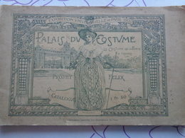 Palais Du Costume (projet Félix) 1900 - Libros, Revistas, Cómics