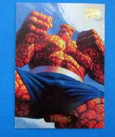 THING MARVEL MASTERPIECE CARD 123 - Marvel