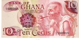 Ghana P.18 10   10 Cedis 1978  Unc - Ghana