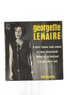 """Disque Ancien """"Georgette Lemaire"""" 4 Titres - New Age"""