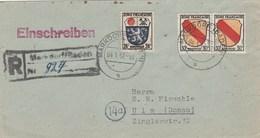 Lettre Reco : Markdorf - Zona Francese