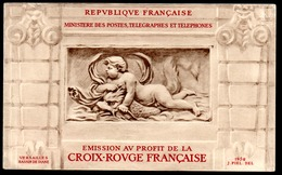 France Frankreich Carnets Croix-Rouge Rotkreuzheftchen Y&T Carnets CR 2001** - Markenheftchen