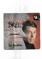 """Disque Ancien """"Jacques Brel"""" 4 Titres - New Age"""