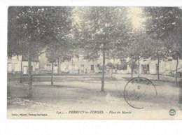 Perrecy-les-Forges - Place Du Marché - édit. Forest 8415 + Verso - France