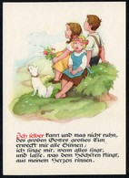 C4300 - TOP Glückwunschkarte - Kinder Hund Dog - Künstlerkarte - Verlag Max Müller Karl Marx Stadt - DDR - Sonstige