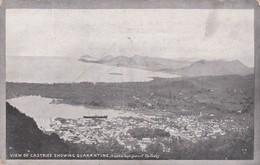 Sainte Lucia :  View Of Castries Showing Quarantine - Autres