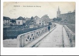 Artaix - Vue Générale Du Bourg - édit. Marchand - C.I.M. Combier Macon  + Verso - Otros Municipios