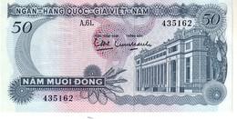 South Vietnam P.25  50  Dong 1969 Unc - Vietnam