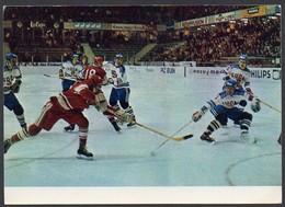 SU  Eishockey: Spiel SU- Finnland Um 1970 - Winter Sports