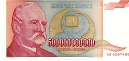 Yugoslavia P.137 500 000 000 000  Dinar 1993  A-unc - Jugoslavia
