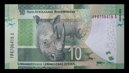 # # # Banknote Südafrika (South Africa) 10 Rand UNC # # # - Südafrika