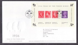Great Britain 2006 Year Of Three Kings, 70th Anniversary FDC - FDC