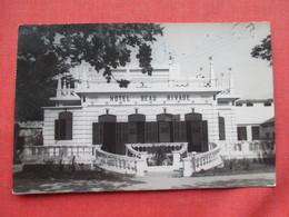 Vietnam    RPPC         Hotel Beau Rivage  Has 3 Stamps   & Cancel    Ref 3265 - Vietnam
