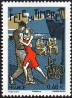 France N° 4982 ** Fête Du Timbre 2015 - La Danse  Le Tango. - France