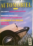 CA024 Autozeitschrift AUTOMOBIEL KLASSIEK, Dezember 1991, Niederländisch, Neuwertig - Auto/Motorrad