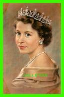 ROYAL FAMILY - SA MAJESTÉ LA REINE ÉLIZABETH II - KARSH, OTTAWA - DECORVILLE CANADA LTD.- - Royal Families