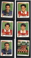 Calciatori Panini 1997-1998 - Bari 6 Figurine - Panini