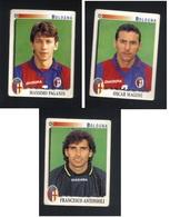 Calciatori Panini 1997-1998 - Bologna 3 Figurine - Edizione Italiana