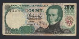 Banconota Venezuela - 2000 Bolivares 1994 Circolata - Venezuela
