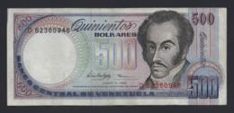 Banconota Venezuela - 500 Bolivares 1995 Poco Circolata - Venezuela
